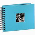 Detail produktu - Hama album klasické spirálové FINE ART 24x17 cm, 50 stran, tyrkysové