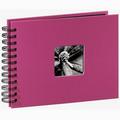 Detail produktu - Hama album klasické spirálové FINE ART 24x17 cm, 50 stran, pink