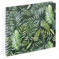 Detail produktu - Hama album klasické spirálové GREENERY 28x24 cm, 50 stran