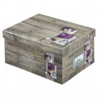 Hama fotobox RUSTICO 17x22x11 cm, lila - zvětšit obrázek
