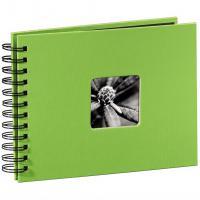 Hama album klasické spirálové FINE ART 24x17 cm, 50 stran, kiwi - zvětšit obrázek
