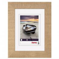 Hama rámeček dřevěný BARCHETTA, světle hnědá, 13x18 cm - zvětšit obrázek