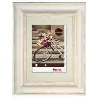 Hama rámeček dřevěný VÉLO, bílá, 13 x 18 cm - zvětšit obrázek