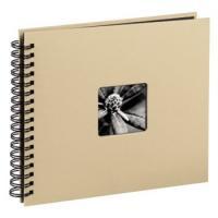 Hama album klasické spirálové FINE ART 36x32 cm, 50 stran, taupe - zvětšit obrázek