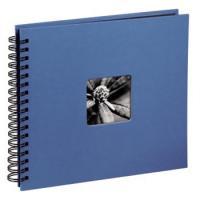 Hama album klasické spirálové FINE ART 36x32 cm, 50 stran, azurové - zvětšit obrázek