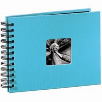 Hama album klasické spirálové FINE ART 24x17 cm, 50 stran, tyrkysové - zvětšit obrázek