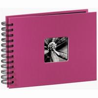 Hama album klasické spirálové FINE ART 24x17 cm, 50 stran, pink - zvětšit obrázek