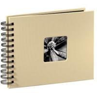 Hama album klasické spirálové FINE ART 24x17 cm, 50 stran, taupe - zvětšit obrázek