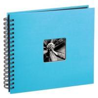 Hama album klasické spirálové FINE ART 28x24 cm, 50 stran, tyrkysové - zvětšit obrázek