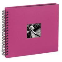 Hama album klasické spirálové FINE ART 28x24 cm, 50 stran, pink - zvětšit obrázek
