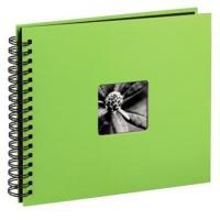Hama album klasické spirálové FINE ART 28x24 cm, 50 stran, kiwi - zvětšit obrázek