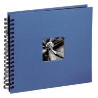 Hama album klasické spirálové FINE ART 28x24 cm, 50 stran, azurové - zvětšit obrázek