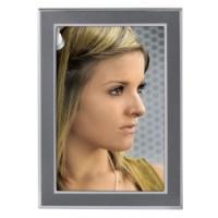 Hama portrétový rámeček Philadelphia, 13x18 cm, antracitový/stříbrný - zvětšit obrázek