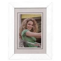 Hama rámeček dřevěný JESOLO, bílá, 10x15cm - zvětšit obrázek