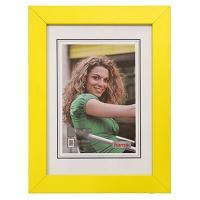 Hama rámeček dřevěný JESOLO, žlutá, 21x29,7cm - zvětšit obrázek