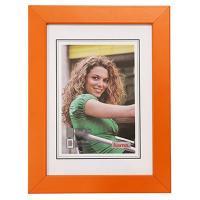 Hama rámeček dřevěný JESOLO, oranžová, 13x18cm - zvětšit obrázek
