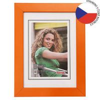 Hama rámeček dřevěný JESOLO, oranžová, 40x50cm - zvětšit obrázek