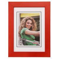 Hama rámeček dřevěný JESOLO, červená, 10x15cm - zvětšit obrázek