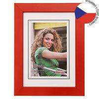 Hama rámeček dřevěný JESOLO, červená, 40x50cm - zvětšit obrázek