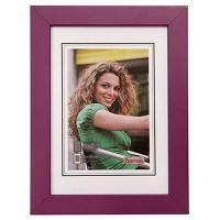 Hama rámeček dřevěný JESOLO, lila, 15x21cm - zvětšit obrázek