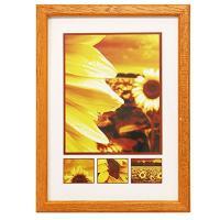 Hama rámeček dřevěný TRAVELLER II, oranžový, 30x40cm - zvětšit obrázek