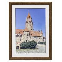 Hama rámeček dřevěný TRAVELLER, hnědý, 29,7x42 cm - zvětšit obrázek