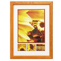 Hama rámeček dřevěný TRAVELLER II, oranžová, 29,7x42 cm - zvětšit obrázek