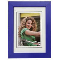 Hama rámeček dřevěný JESOLO, modrá, 29,7x42 cm - zvětšit obrázek