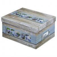 Hama fotobox RUSTICO 17x22x11 cm, bílá/modrá - zvětšit obrázek