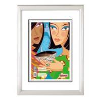 Hama rámeček plastový MADRID, bílý, 10x15cm - zvětšit obrázek