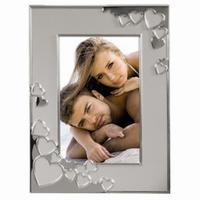 Hama portrétový rámeček Cape Coral, stříbrný, 13x18 cm - zvětšit obrázek