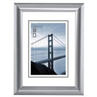 Hama rámeček plastový MALAGA, stříbrná, 40x50 cm - zvětšit obrázek
