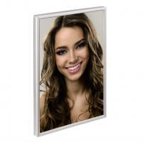 Hama portrétový rámeček Bern, 13x18 cm, stříbrný - zvětšit obrázek