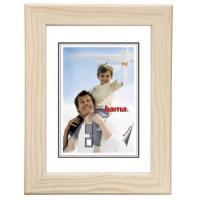 Hama rámeček dřevěný RIGA, bílý, 13x18cm - zvětšit obrázek