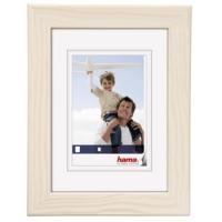 Hama rámeček dřevěný RIGA, bílý, 21x29,7cm - zvětšit obrázek