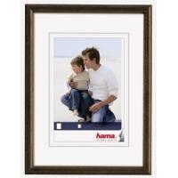 Hama rámeček dřevěný OREGON, hnědý, 15x20cm - zvětšit obrázek