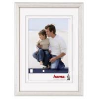 Hama rámeček dřevěný OREGON, bílá, 21x29,7cm - zvětšit obrázek