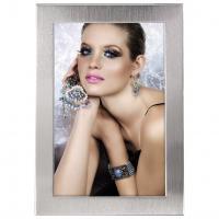 Hama portrétový rámeček Davos, 15x20 cm, stříbrný - zvětšit obrázek