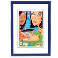 Hama rámeček plastový MADRID, modrý, 40x50cm - zvětšit obrázek