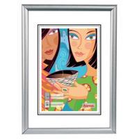 Hama rámeček plastový MADRID, stříbrný matný, 20x30cm - zvětšit obrázek