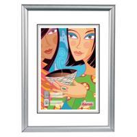 Hama rámeček plastový MADRID, stříbrný matný, 40x50cm - zvětšit obrázek