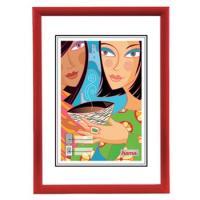 Hama rámeček plastový MADRID, červený, 40x50cm - zvětšit obrázek