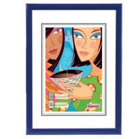Hama rámeček plastový MADRID, modrý, 29,7x42 cm - zvětšit obrázek
