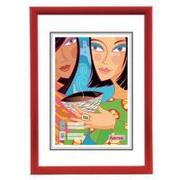 Hama rámeček plastový MADRID, červený, 29,7x42 cm - zvětšit obrázek