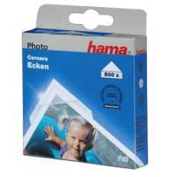Hama fotorůžky samolepící, transparentní, 500 ks - zvětšit obrázek
