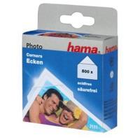 Hama fotorůžky samolepící, transparentní, viskóza/papír, 500 ks - zvětšit obrázek