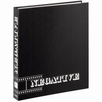 Hama kroužkový pořadač pro negativy, černý, 29x32,5 cm - zvětšit obrázek