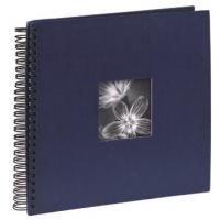 Hama album klasické spirálové FINE ART 36x32 cm, 50 stran, modré - zvětšit obrázek