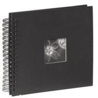 Hama album klasické spirálové FINE ART 28x24 cm, 50 stran, černé - zvětšit obrázek