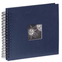 Hama album klasické spirálové FINE ART 28x24 cm, 50 stran, modré - zvětšit obrázek